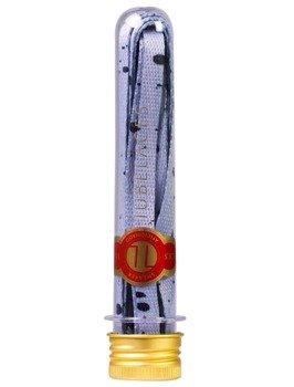 sznurowadła TUBELACES - GOLD FLAT SPLATTER II GREY/BLACK (130 cm)