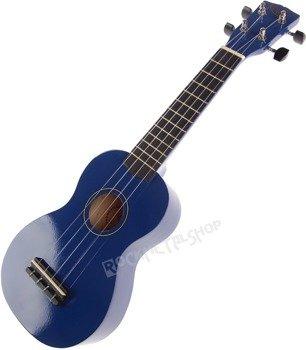 ukulele sopranowe KORALA niebieskie + pokrowiec