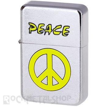zapalniczka benzynowa PEACE YELLOW