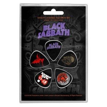 zestaw kostek BLACK SABBATH - PURPLE LOGO (5 szt)