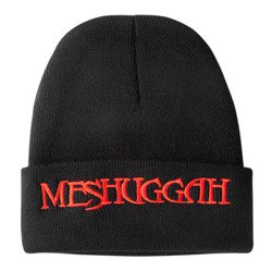 czapka MESHUGGAH - RED LOGO, zimowa