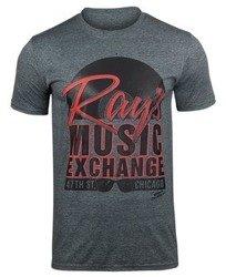 koszulka THE BLUES BROTHERS - RAYS MUSIC EXCHANGE ciemnoszara