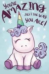 plakat UNICORN - AMAZING
