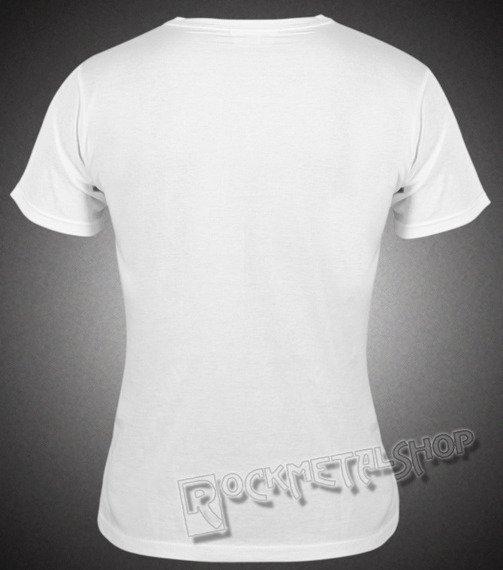 bluzka damska BLACK ICON - SMURFS biała (DICON090 WHITE)