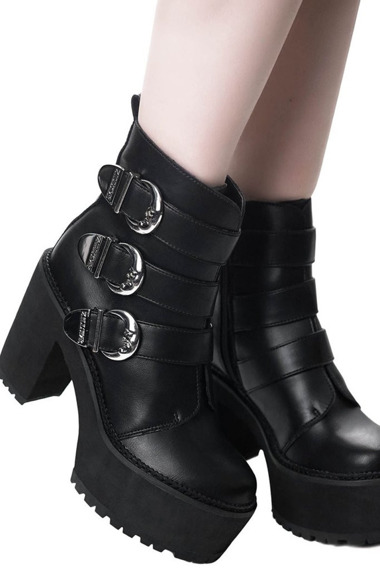 buty damskie na platformie KILL STAR - ORACLE