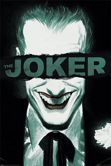 plakat THE JOKER - PUT ON A HAPPY FACE
